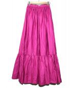 furuta(フルタ)の古着「ブロード/スカート」|ショッキングピンク