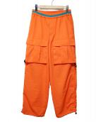 MAGIC STICK(マジックスティック)の古着「カーゴパンツ」|オレンジ