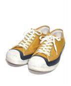 toast FOOT & EYE GEAR(トーストフット&アイギア)の古着「ローカットスニーカー」|イエロー