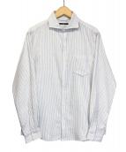 SHIPS(シップス)の古着「コットン エアーパイル セミワイドカラー シャツ」|ホワイト