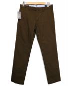 POLO RALPH LAUREN(ポロラルフローレン)の古着「ストレッチスリムフィットチノパンツ」|ブラウン