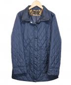 EVEX by KRIZIA(エヴェックスバイクリツィア)の古着「スマートウォーマーキルティングコート」|ネイビー