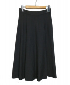 TO BE CHIC(トゥービーシック)の古着「ペガサスニットスカート」|ブラック