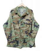 US Army(ユーエス アーミー)の古着「[OLD]80smilitary combat jacket」|カーキ