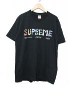 Supreme(シュプリーム)の古着「Crystals Tee」|ブラック