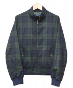 FRED PERRY(フレッドペリー)の古着「HARRINGTON JACKET」|グリーン