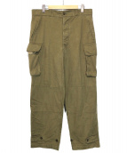 FRENCH ARMY(フレンチアーミー)の古着「M-47 Cargo Pants」|カーキ
