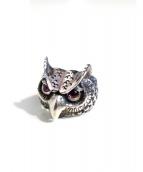 BILL WALL LEATHER(ビルウォールレザ)の古着「OWL RING」|シルバー