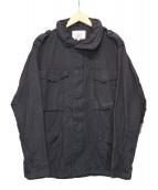 AVIREX(アビレックス)の古着「M-65ミリタリージャケット」|ブラック