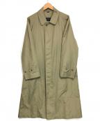 SANYO(サンヨー)の古着「ヴィンテージステンカラーコート」|ベージュ