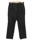 COMME des GARCONS(コムデギャルソン)の古着「リネン混パンツ」|ブラック