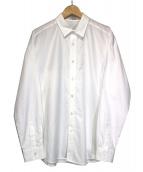 MR.GENTLEMAN(ミスタージェントルマン)の古着「UMBRELLA YOKE MODERN SHIRT」 ホワイト