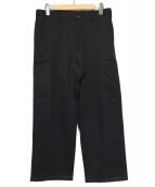 ABAHOUSE(アバハウス)の古着「FORMOZA KERSEYワイドパンツ」|ブラック