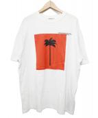 Palm Angels(パームエンジェルス)の古着「Big Palmxpalm Tee」|ホワイト