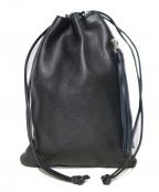 HERGOPOCH(エルゴポック)の古着「巾着バッグ」 ブラック