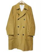 H.R.MARKET(ハリウッドランチマーケッド)の古着「コットンモールスキンダスターコート」|ベージュ