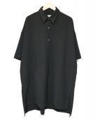 Luis(ルイス)の古着「ビッグシルエットシャツコート」 ブラック