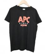 A.P.C.()の古着「T-SHIRT TAYLOR」|ブラック