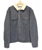 LEVIS(リーバイス)の古着「TYPE3 シェルパトラッカージャケット」 インディゴ