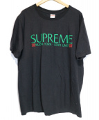 Supreme(シュプリーム)の古着「Nuova York Tee」|ブラック