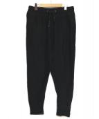 ATON(エイトン)の古着「スウェットパンツ」|ブラック