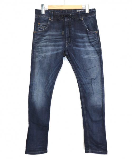 DIESEL(ディーゼル)DIESEL (ディーゼル) ジョグジーンズ インディゴ サイズ:30 KROOLY-NEの古着・服飾アイテム