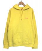 Supreme(シュプリーム)の古着「Mary Hooded Sweatshirt」|イエロー