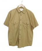 FILSON(フィルソン)の古着「ワークシャツ」|ベージュ