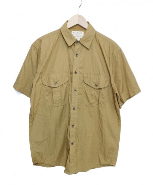 FILSON(フィルソン)FILSON (フィルソン) ワークシャツ ベージュ サイズ:S 夏物の古着・服飾アイテム