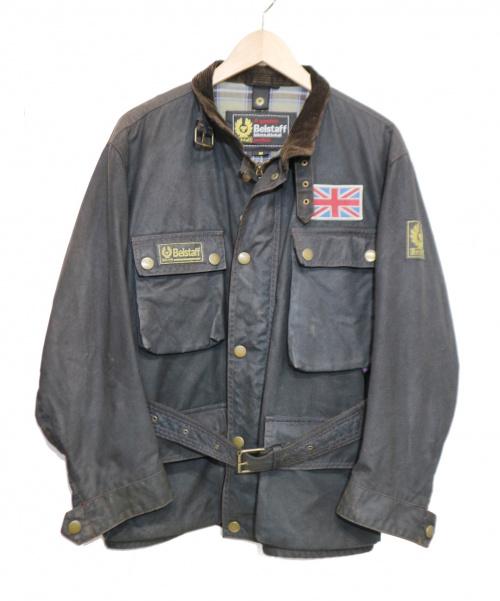 BELSTAFF(ベルスタッフ)BELSTAFF (ベルスタッフ) ヴィンテージトライアルマスタージャケット ブラック サイズ:Mの古着・服飾アイテム