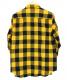 SURT (サート) チェックネルシャツ イエロー サイズ:M 秋物:5800円