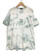 BLACK LABEL CRESTBRIDGE(ブラックレーベルクレストブリッジ)の古着「タイダイTシャツ」|グリーン