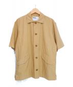 MHL(エムエイチエル)の古着「半袖シャツ」|ベージュ