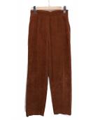6(ROKU) BEAUTY&YOUTH(ロク ビューティアンドユース)の古着「CORDUROY PANTS」 ブラウン