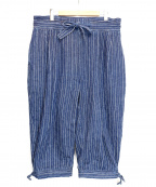Porter Classic(ポータークラシック)の古着「HAWAIAN DENIM KARATE PANTS」|ネイビー