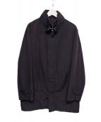 allegri(アレグリ)の古着「シンサレートコート」|ブラック