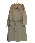 French Army(フレンチアーミー)の古着「French Army Motorcycle Coat」|カーキ