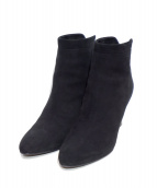 PELLICO(ペリーコ)の古着「Suede Ankle Boots」|ブラック