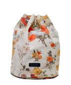 beautiful people(ビューティフルピープル)の古着「botanical pt. beach bag」|ベージュ