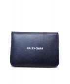 BALENCIAGA(バレンシアガ)の古着「CASH MEDIUM WALLET」|ブラック