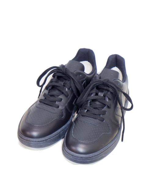 VEJA(ヴェジャ)VEJA (ヴェジャ) レザースニーカー ブラック サイズ:27の古着・服飾アイテム