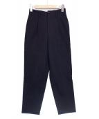 tricot COMME des GARCONS(トリコ コムデギャルソン)の古着「ウールタックパンツ」 ブラック