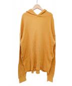 CALUX(キャラクス)の古着「サーマルプルオーバー」|オレンジ