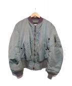 ALPHA(アルファ)の古着「フライトジャケット」|カーキ