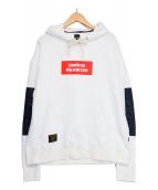 glamb(グラム)の古着「2001 hoodie」 ホワイト