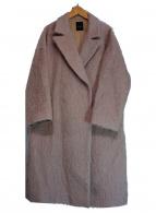 Demi-Luxe BEAMS(デミルクスビームス)の古着「モヘヤシャギーコート」 ピンク
