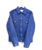 BONCOURA(ボンクラ)の古着「ピケGジャン」|ネイビー