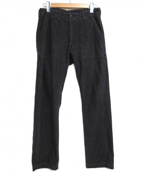 orSlow(オアスロウ)orSlow (オアスロウ) バイカーパンツ ブラック サイズ:SIZE JPN Mの古着・服飾アイテム