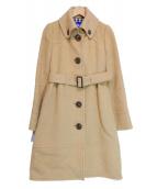 BURBERRY BLUE LABEL(バーバリーブルーレーベル)の古着「アルパカ混コート」|ベージュ