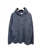 LANVIN en Bleu(ランバンオンブルー)の古着「プルオーバーシャツ」 グレー